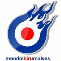 Mendol Biru Malves