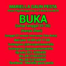 Mariella Gaun Pesta