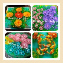 Rainbow Art Jelly