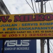Logo CV. Milkom