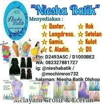 niesha batik olshop
