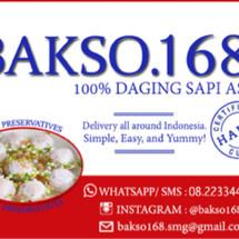 Logo Bakso 168