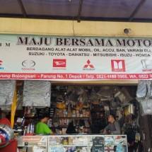 New Maju Bersama motor Logo