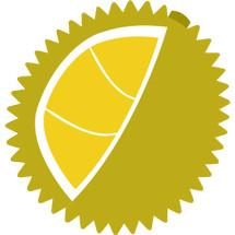 Logo Ucok Durian Tangerang
