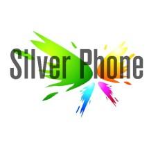 Logo silver phone
