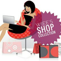 wiee's shop collection Logo