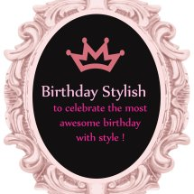 Logo Birthday Stylish