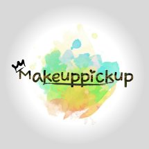 Logo Makeuppickup Beauty Shop