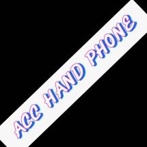 Logo acc hand phone