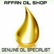 Logo Affan Oil Shop