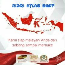 Logo Rizqi Atlas Shop