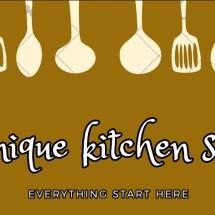Unique Kitchen set