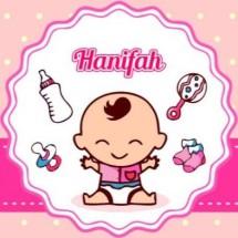 Logo Toko Bayi Hanifah