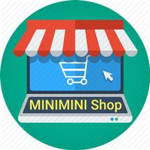 Logo minimini shop