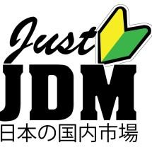 Logo JUST JDM VARIASI MOBIL