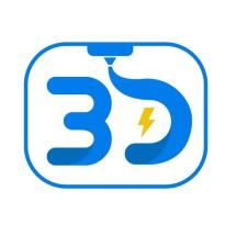 Logo 3D Zaiku Surabaya