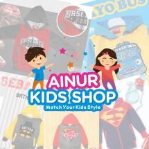 Ainur Kids Shop. Logo