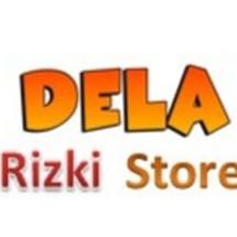 Logo Dela Rizki Shop