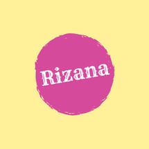 Rizana Store Logo