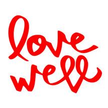 Logo Love Well