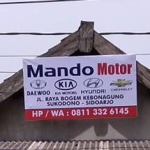 Logo mando motor