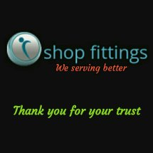 Logo shop fittings