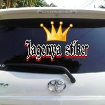 Logo Jagonya Stiker