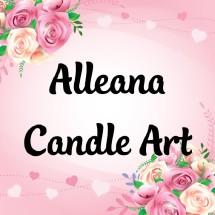 Logo Alleana Candle Art