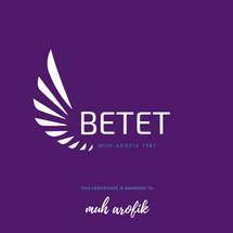 Logo betet store 87