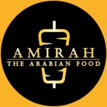 Logo Amirah The Arabian Food
