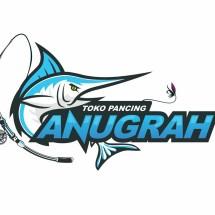 Logo Toko Pancing Anugrah