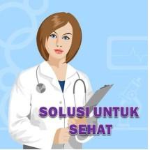 Logo Solusi untuk sehat