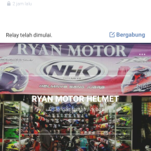 Ryan motor helmet Logo