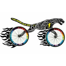 Logo Toko Sepeda MajuJaya