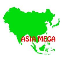 Logo Toko Asia Mega