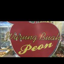 Logo warung buah peon H Napih