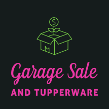 Garage Sale n Tupperware