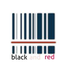 Logo blackandred
