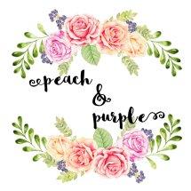 Logo Peach N Purple