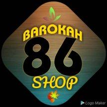 Logo barokah 86 shop