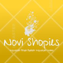 Novi Shopies Logo