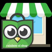 Logo rainbow ol shop