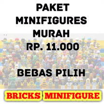 Logo Minifigure Bricks