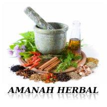 Logo Amanah Herbal Bekasi