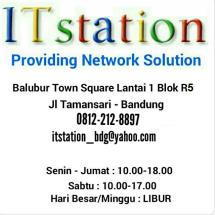 Logo ITstation Bandung