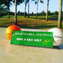 Logo Ibracadabra_golfball