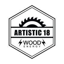 Logo pabrik poster kayu