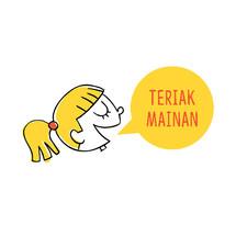 teriak mainan Logo