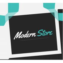 Logo Modern Online Store