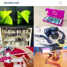 BIKIN3D Logo